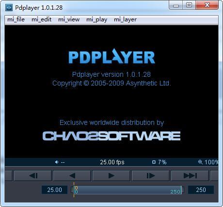 Pdplayer序列帧播放器【Pdplayer 64位破解版】