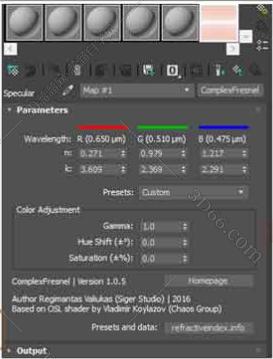 ComplexFresnel v1.0.9 – 3DsMax高级反射插件For 2017-2020