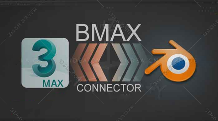 3DsMax/Blender桥接插件:BMAX 010 For 2013-2020-2.8