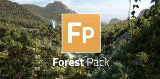 Itoo ForestPack Pro 植物森林插件 v5.4 For 3Ds Max 2010-2018