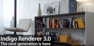 模拟光的物理渲染器Indigo Renderer v4.0.41 For C4D/Max/Blender Win x64