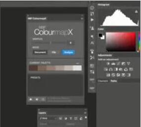 PS渐变映射调色插件–NBP ColourmapX v1.1 Win/Mac+使用教程