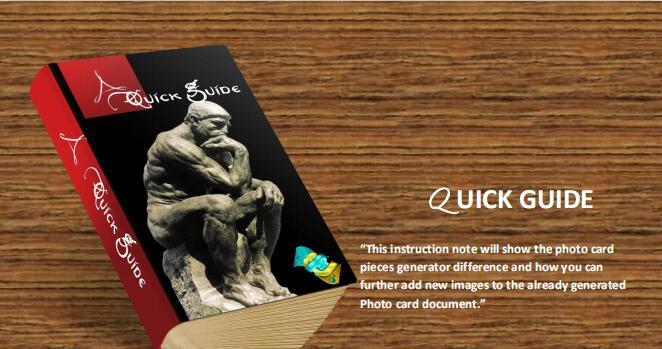 Photoshop CC+动作 – 照片生成卡片快速生成器