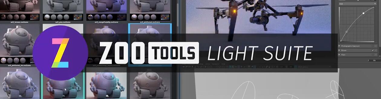 Maya照明插件预设集:Zoo Tools Pro v1.4+使用教程