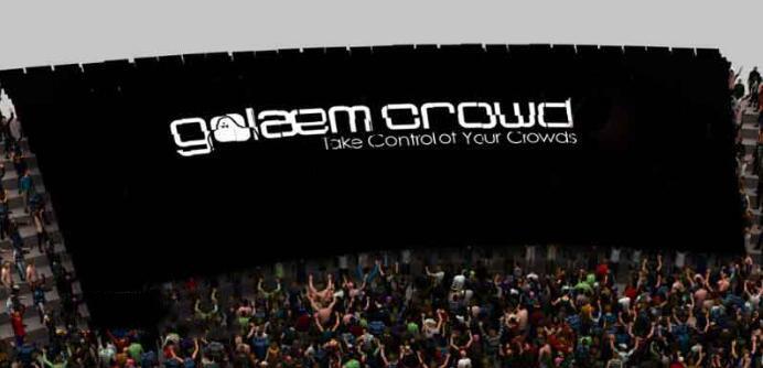 Maya集群插件:Golaem Crowd v6.1.1