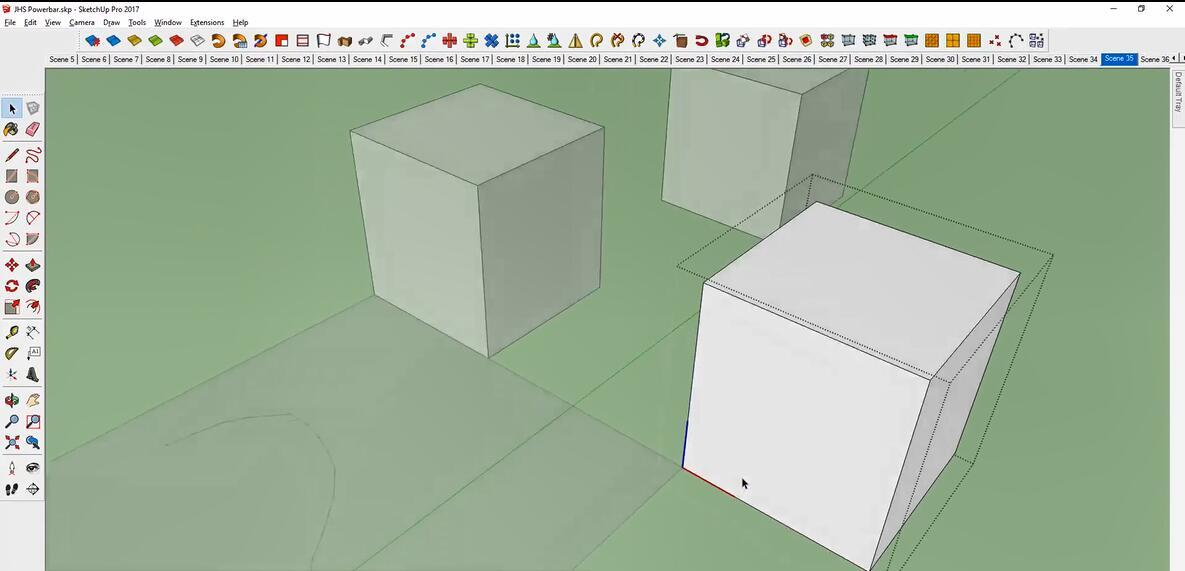 SketchUp草图大师工具栏扩展插件:JHS Powerbar v2019