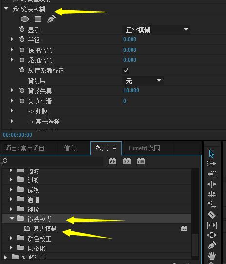 PR镜头模糊插件out+of+focus中文破解版