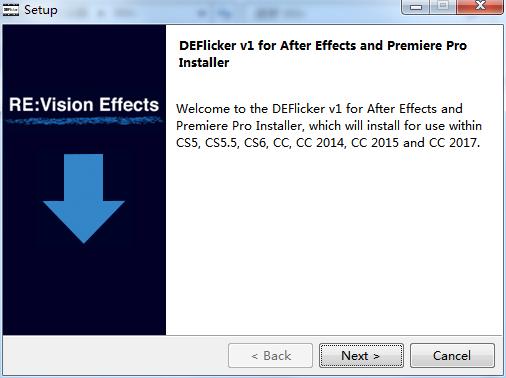 PR去除视频闪烁插件REVisionFX+DEFlicker+v1.4.9中文破解版