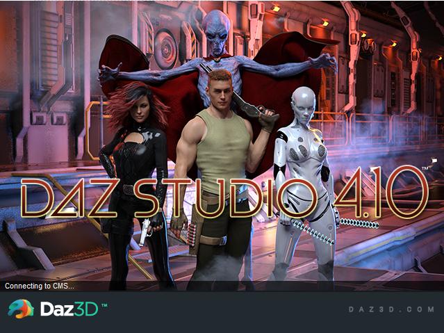 DAZ Studio Pro Edition 4.10.0.107破解版【DAZ Studio 4.1】简体中文破解版