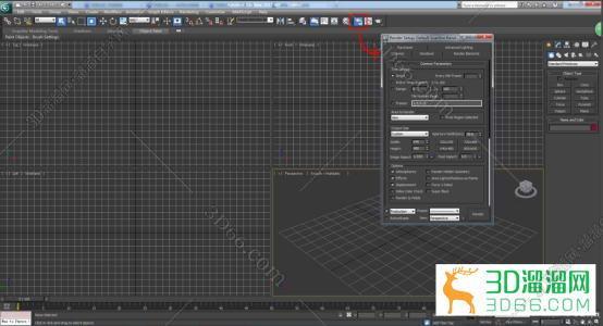 3dmax2012渲染高清大图的渲染参数,vray参数要怎么设置?-羽兔网问答