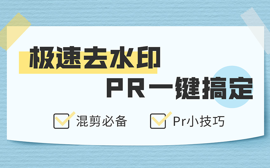 PR-一键极速去水印