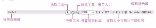 dw软件工作界面介绍详解:dw软件界面有几部分组成?
