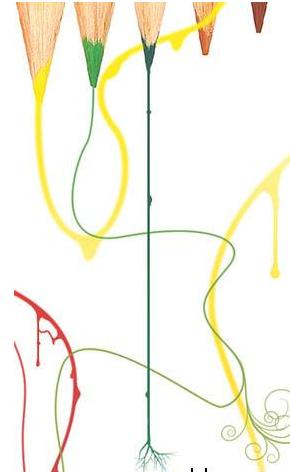 怎么使用ps进行插画设计?怎么绘制一幅艺术插画?