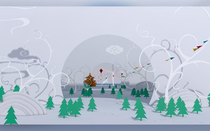 C4D+PS-剪纸动画案例制作