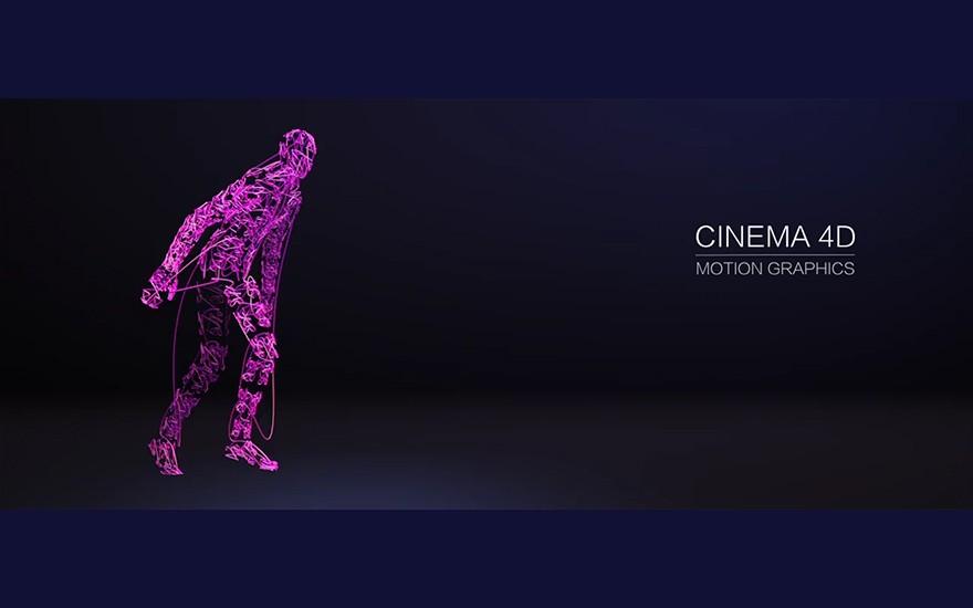 C4D+AE-线形跳舞人偶