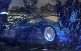 C4D-汽车海报渲染