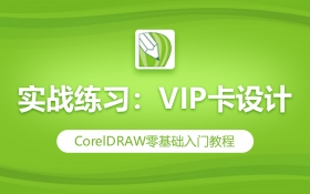 CDR实战练习:VIP卡设计