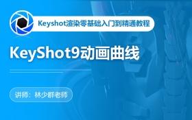 KeyShot9动画曲线