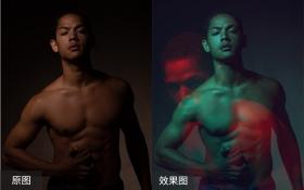 PS-男性皮肤质感修图