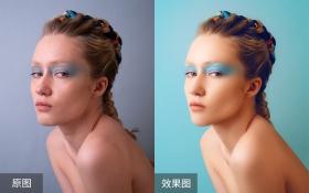 PS-女性皮肤质感修图