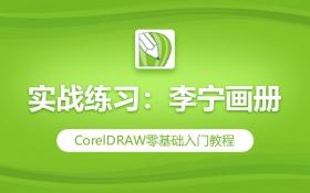 CDR实战练习:李宁画册