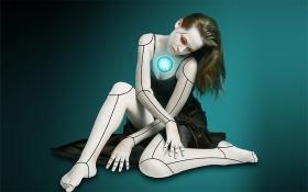 PS-《机械人物特效》创意海报合成