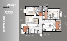 CAD-日式大三居案例教程