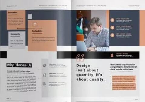 宣传册排版设计要素-羽兔网资讯