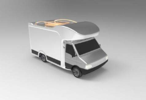 房车模型后处理--KEYSHOT 渲染-羽兔网资讯