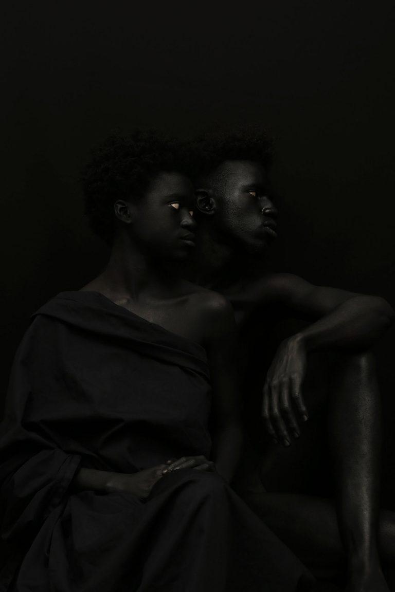 加蓬摄影师Yannis Davy Guibinga 华丽的黑色肖像摄影-羽兔网资讯