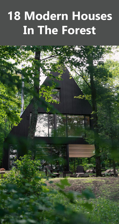 森林里的18座现代住宅-羽兔网资讯