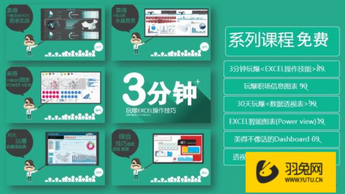 Excel视频教程哪家好-羽兔网资讯