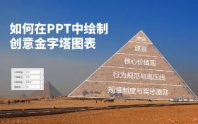PPT-如何建立金字塔图表