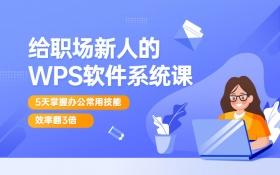 WPS Office零基础入门到精通全套教程