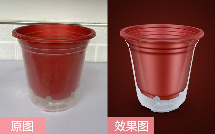 PS-塑料花盆精修