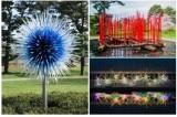 艺术家奇胡利的创新玻璃雕塑在纽约植物园展出-羽兔网资讯